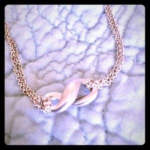 Tiffany infinity necklace